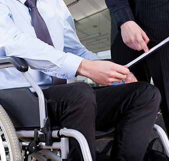 Working with disabilities
